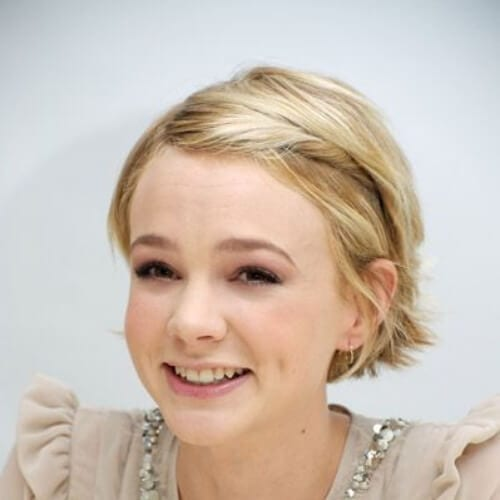 carey mulligan cool hairstyles for girls