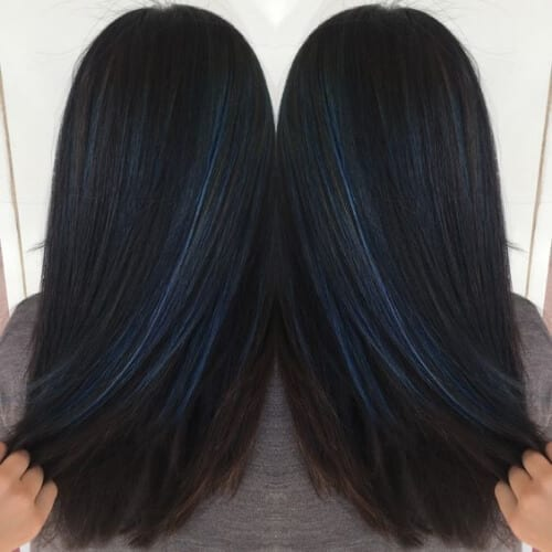 cobalt blue low highlights and lowlights