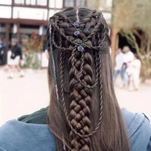 elvish braid hairstyles for long hair