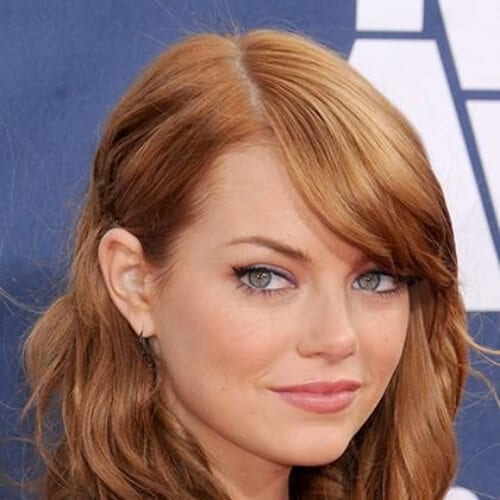 emma stone cool hairstyles for girls