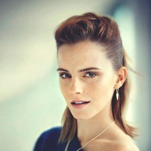 emma watson cool hairstyles for girls