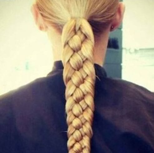 four strand blonde hairstyles