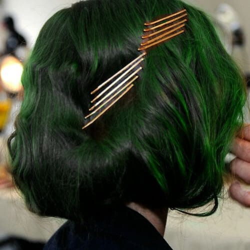 green pins cool hairstyles for girls