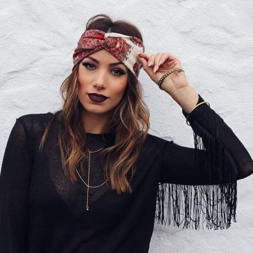 headband cool hairstyles for girls