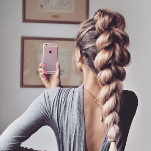 high braid hairstyles for long hair