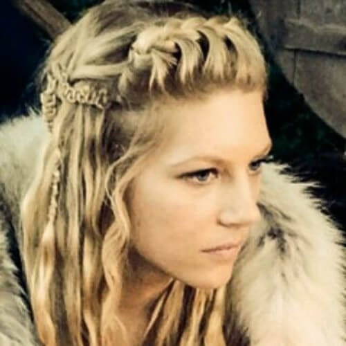 lagertha blonde hairstyles