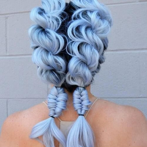 light indigo braid hairstyles for long hair