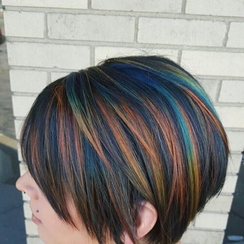 45 Jazzy Short Hair with Highlights Ideas - My New Hairstyles