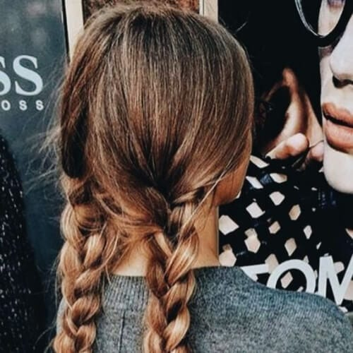 plaits braid hairstyles for long hair