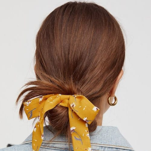 scarf cool hairstyles for girls
