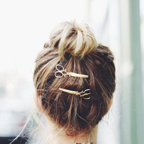 scissors pins cool hairstyles for girls