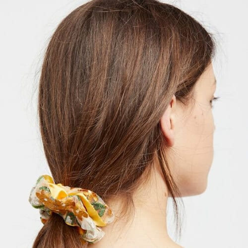 scrunchie cool hairstyles for girls