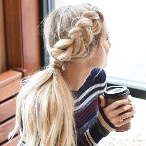 side french braid hairstyles for long hair