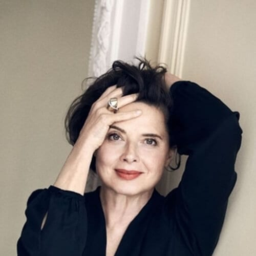 Isabella Rossellini short haircuts for fine hair