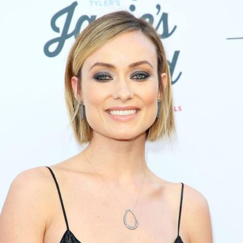 Olivia Wilde short haircuts for fine hair