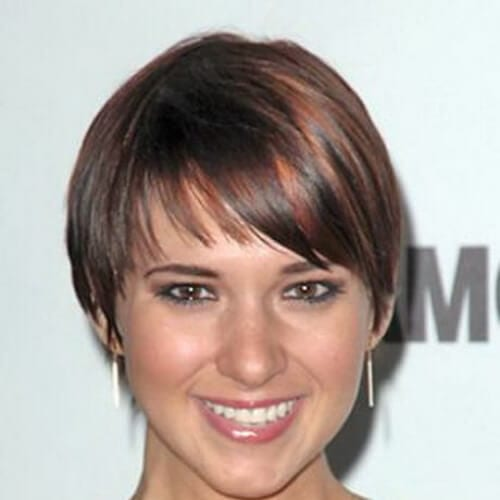 Short wedge haircut short haircuts for fine hair