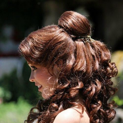 belle chestnut hair color