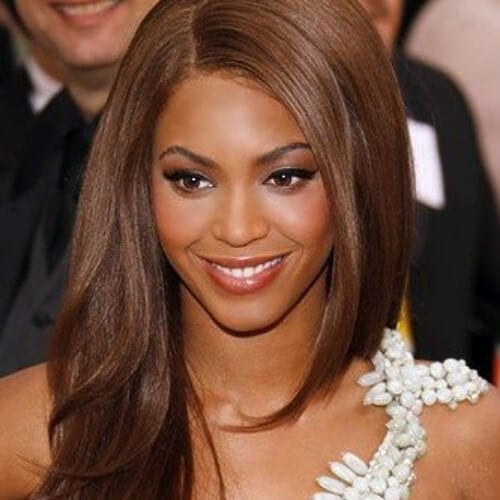 beyonce chestnut hair color