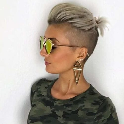 edgy haircuts for thick hair