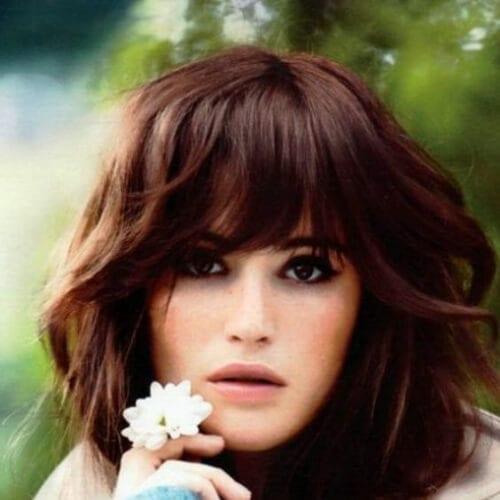 gemma arterton chestnut hair color