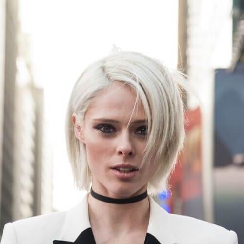 goth pixie cut short haircuts for fine hair