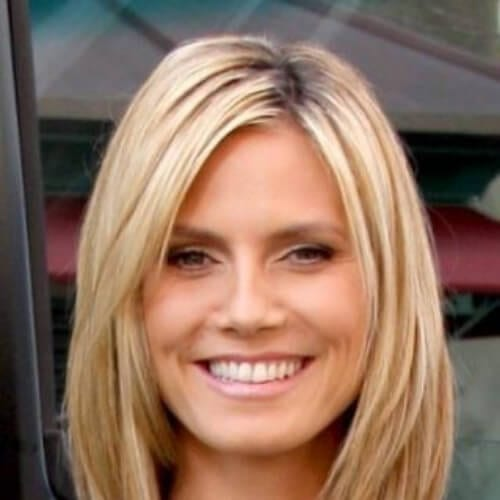 heidi klum short haircuts for fine hair