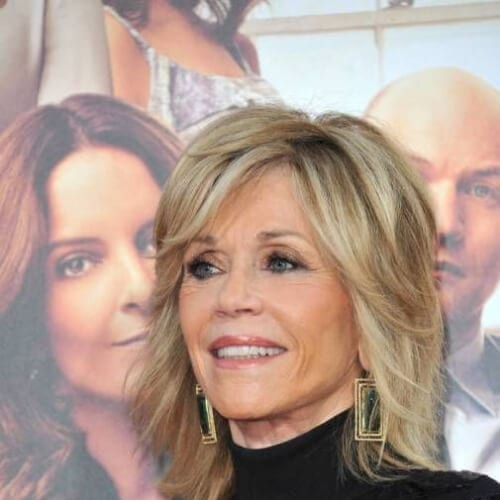 jane fonda short haircuts for fine hair