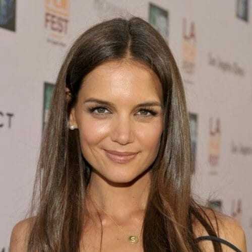 katie holmes chestnut hair color