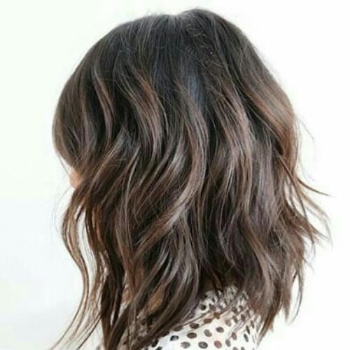 long bob thinned out haircuts for thick hair