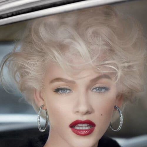 modern marilyn haircuts for thick hair