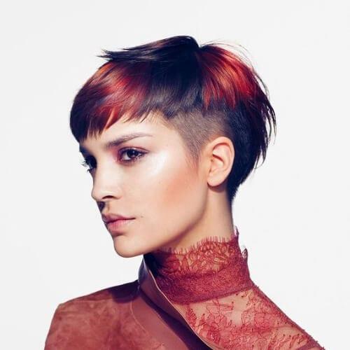 peekaboo short haircuts for fine hair