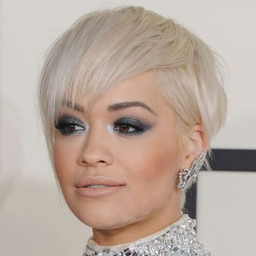 rita ora short haircuts for fine hair