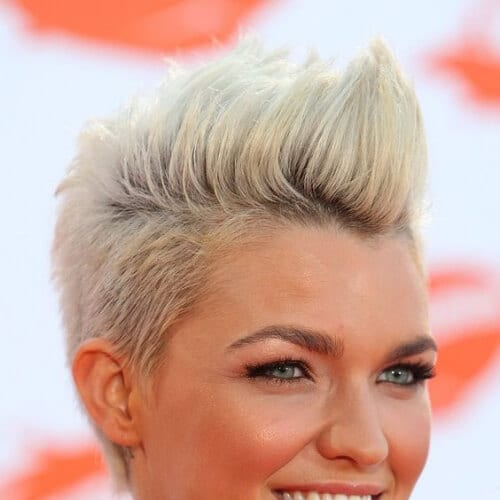 ruby rose short haircuts for fine hair