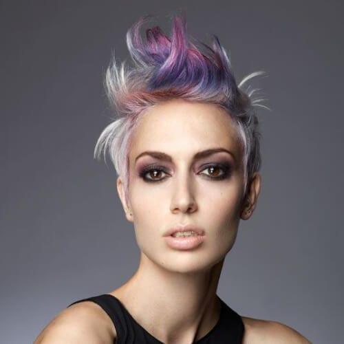 unicorn short haircuts for fine hair