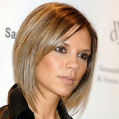 victoria beckham short haircuts for fine hair