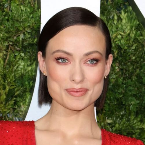 Olivia Wilde short haircuts for straight hair