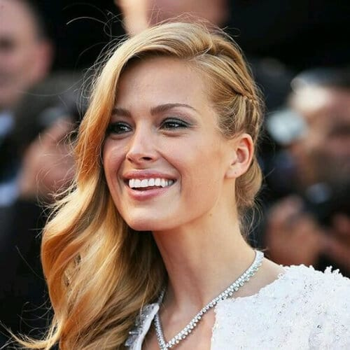 braid side hairstyles for prom