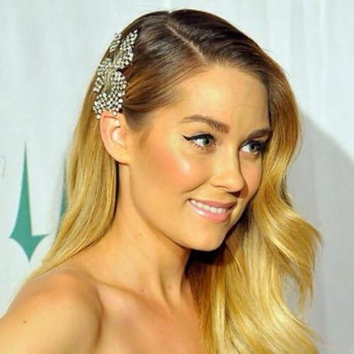 hair piece side hairstyles for prom