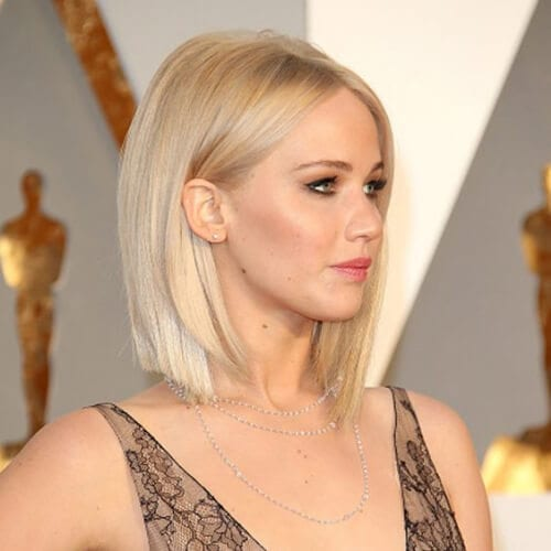 jennifer lawrence short haircuts for straight hair