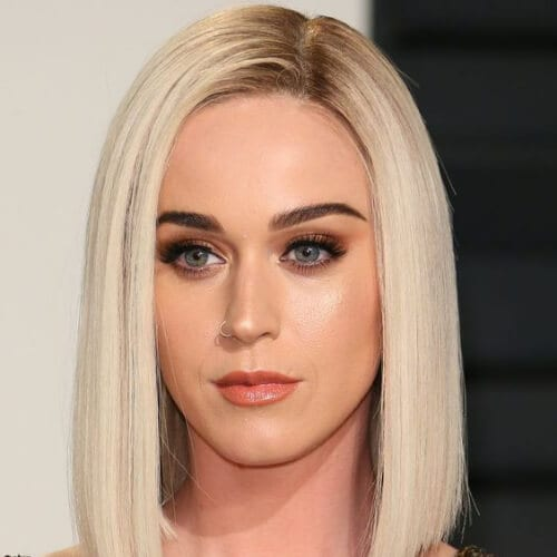 katy perry short haircuts for straight hair
