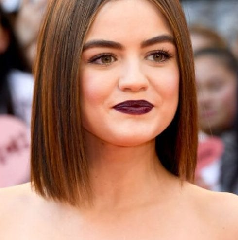 lucy hale short haircuts for straight hair