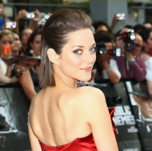 marion cotillard short haircuts for straight hair