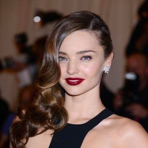 miranda kerr side hairstyles for prom