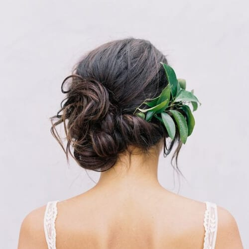 natural side hairstyles for prom