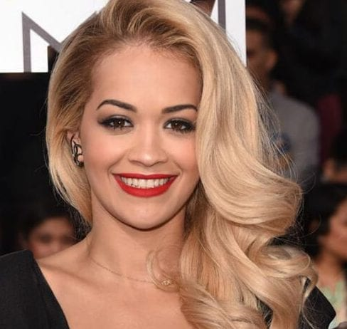 rita ora side hairstyles for prom