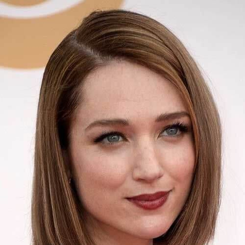 sleek short haircuts for straight hair