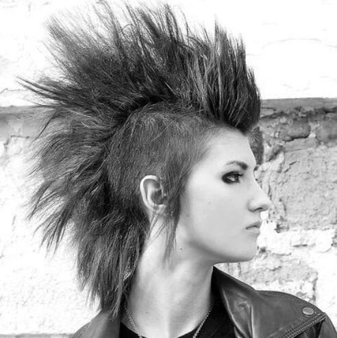 classic short punk hairstyles