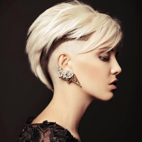 current short punk hairstyles