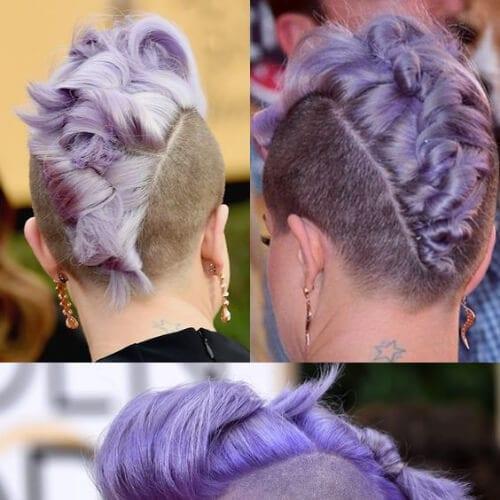 kelly-osbourne short punk hairstyles