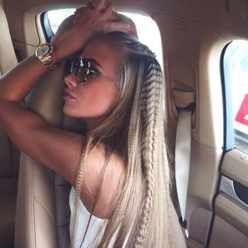 long crimped hairstyles
